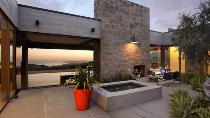 Pomysł na patio i taras w ogrodzie przydomowym